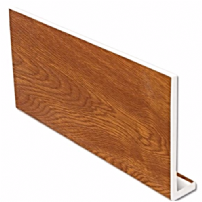 Golden Oak uPVC Fascia Capping Board 9mm 5mt